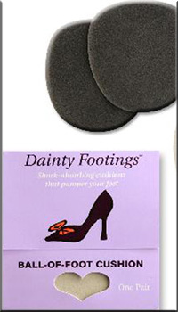 Dainty Footings shoe cushions